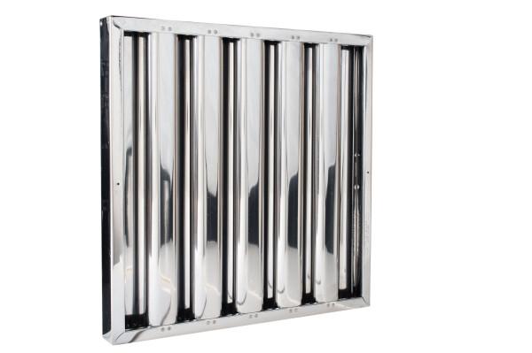 Kleen-Gard 23.5x19.5x1.88 Stainless Steel Baffle (No Handles) (Exact Size)
