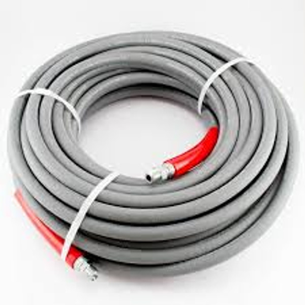 "GRAY, 3/8""x50' 4000 psi, WRAPPED HOSE"