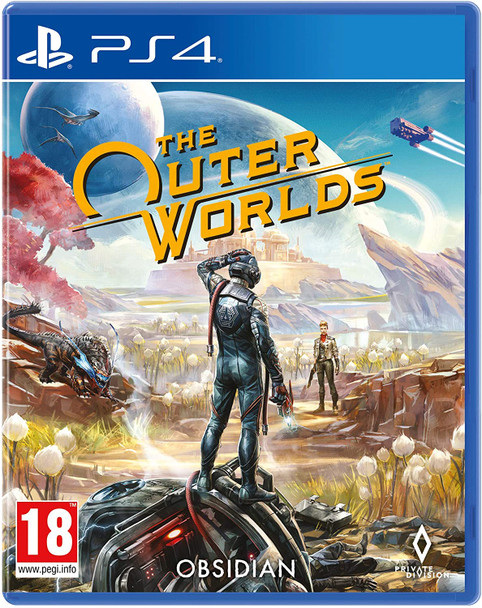 The Outer Worlds Sony Playstation 4 PS4 Game