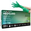 Microflex - Neogard Chloroprene Latex Free Powder Free Green Exam Gloves - Small