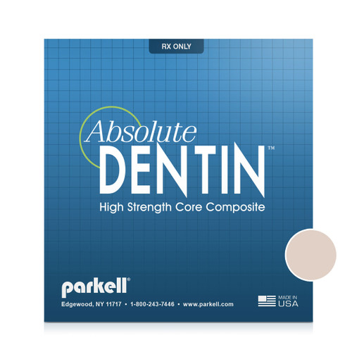 Parkell - Absolute Dentin Tooth Shade Composite core build-up material