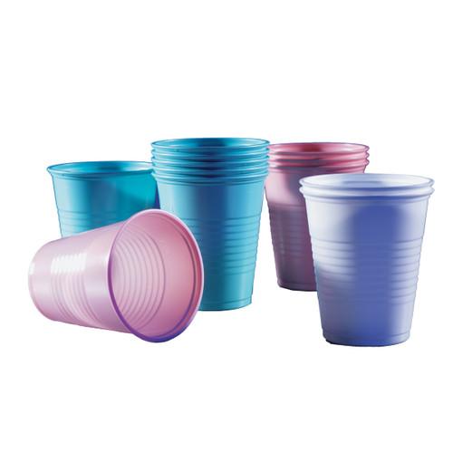 Quala - Premium Plastic Drinking Cups - Silver Grey