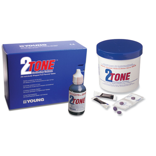 Young Dental - 2-Tone Disclosing Tablet