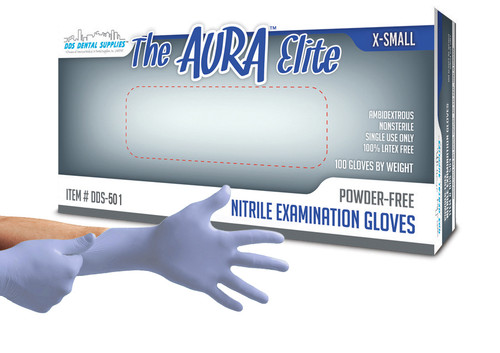 Aura Elite XS 200/BX P.F Nitrile