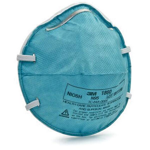 3M N95 Mask Regular Particulate Respirator Mask Cone Molded, 20/bx Level 3