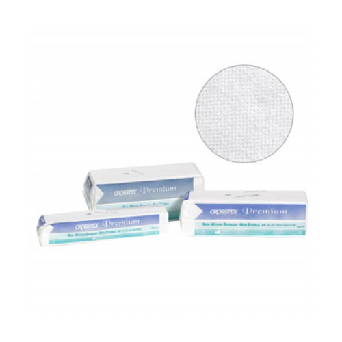 Crosstex - ADVANTAGE NON-WOVEN 4-PLY SPONGES - 3' x 3', Advantage, 30g, Non-Sterile