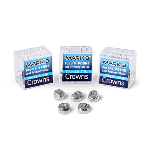 Cargus - Stainless Steel Crowns 2nd Primary Molar - E-UL-3