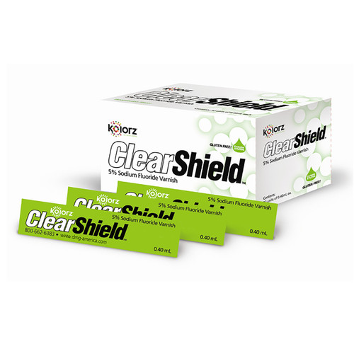 DMG America - Kolorz ClearShield Fluoride Varnish - Mint 200/pk