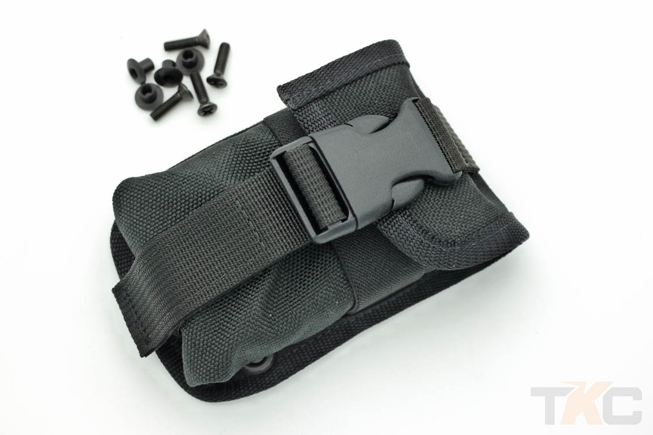 """ESEE 52POUCH Accessory Pouch Black 4.5/""""x3.125/""""x1.25/"""""""