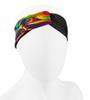 Aero Tech Women's Twisted Headband Wrap in Lava lamp