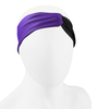 Aero Tech Women's Twisted Headband Wrap in Purple