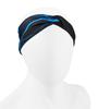 Aero Tech Women's Twisted Headband Wrap in Blue Lightnining