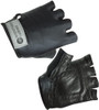 Solid Black biking glove for children