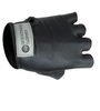 black stretch glove for cycling