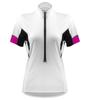 white women's cycling jersey
