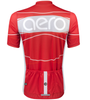 TALL Men's Aero Detour Sprint Jersey Red Back