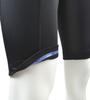 Tall Men's Black Pearl Padded Bike Short Leg Gripper Detail