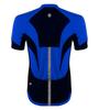 Men's High Vis Reflective Pace Cycling Jersey Royal Blue Back