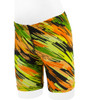 children's padded bicycle short - high visibility