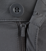 Button and zipper fly opening
