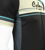 Retro Active Cyclewear Biking Sprint Jersey Front Side Detail