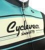 Retro Active Cyclewear Biking Sprint Jersey Front Detail