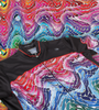 multiple colors with black framework