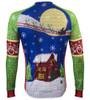 Aero Tech Peloton Long Sleeve Jersey - 2016 Holiday Jersey - Brushed Fleece