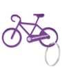 Bicycle Key Chain in Purple