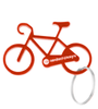 Bicycle Key Chain in Red