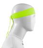 Aero Tech Headband Tie Sweatband Safety Yellow