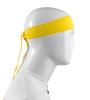 Aero Tech Headband Tie Sweatband Yellow