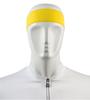 Aero Tech Headband Tie Sweatband Yellow Front View