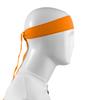 Aero Tech Headband Tie Sweatband Orange