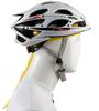 Aero Tech Headband Tie Sweatband Yellow Under Helmet View
