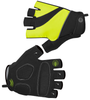 Tempo Fingerless Cycling Gloves Safety Yellow