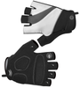 Tempo Fingerless Cycling Gloves White