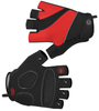Tempo Fingerless Cycling Gloves Red
