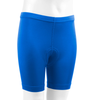 Youth padded Bike Shorts Royal Blue Front