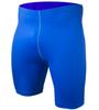 royal blue fitness shorts