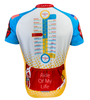 Greater Allegheny Passage Trail Cycling Jersey Back