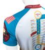 Aero Tech Gap Cycling Jersey Off Back