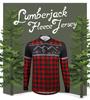 Lumberjack Brushed Fleece Long Sleeve Jersey Graphic Panel
