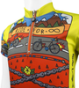 Ride for Infinity Youth Cycling Team Jersey Off Front Detail