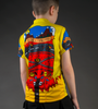 Ride for Infinity Youth Cycling Team Jersey Model Back View