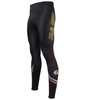 Men's Tenacious JAG OFF Pittsburgh Theme Cycling Tights Off Front View