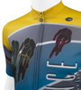 Cadence Sprint Cycling Jersey Full Upper Off Front View