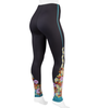 Aero Tech Women's Floral Print UNPADDED Rush Tights - Soft and Colorful