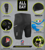 All Day Cycling Shorts Features Panel