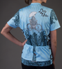 Lady Rider Empress Jersey Back Model View